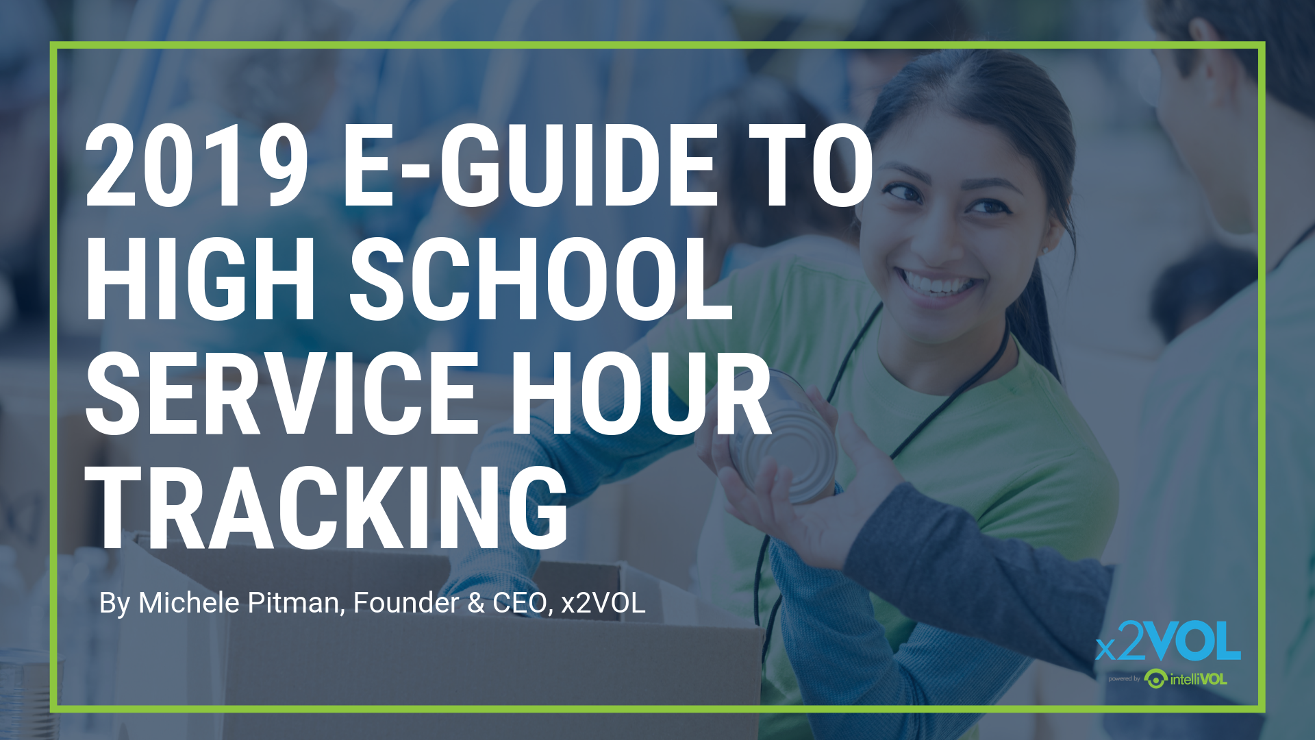 2019 E-Guide to High School Service Hour Tracking