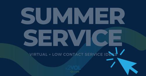 Virtual + Low Contact Service Ideas