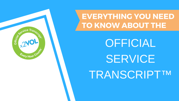 Frequently Asked Questions about the Official Service Transcript